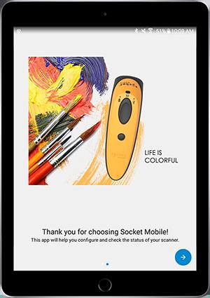 Socket Mobile | Barcode scanner app | Companion app | setup scanner