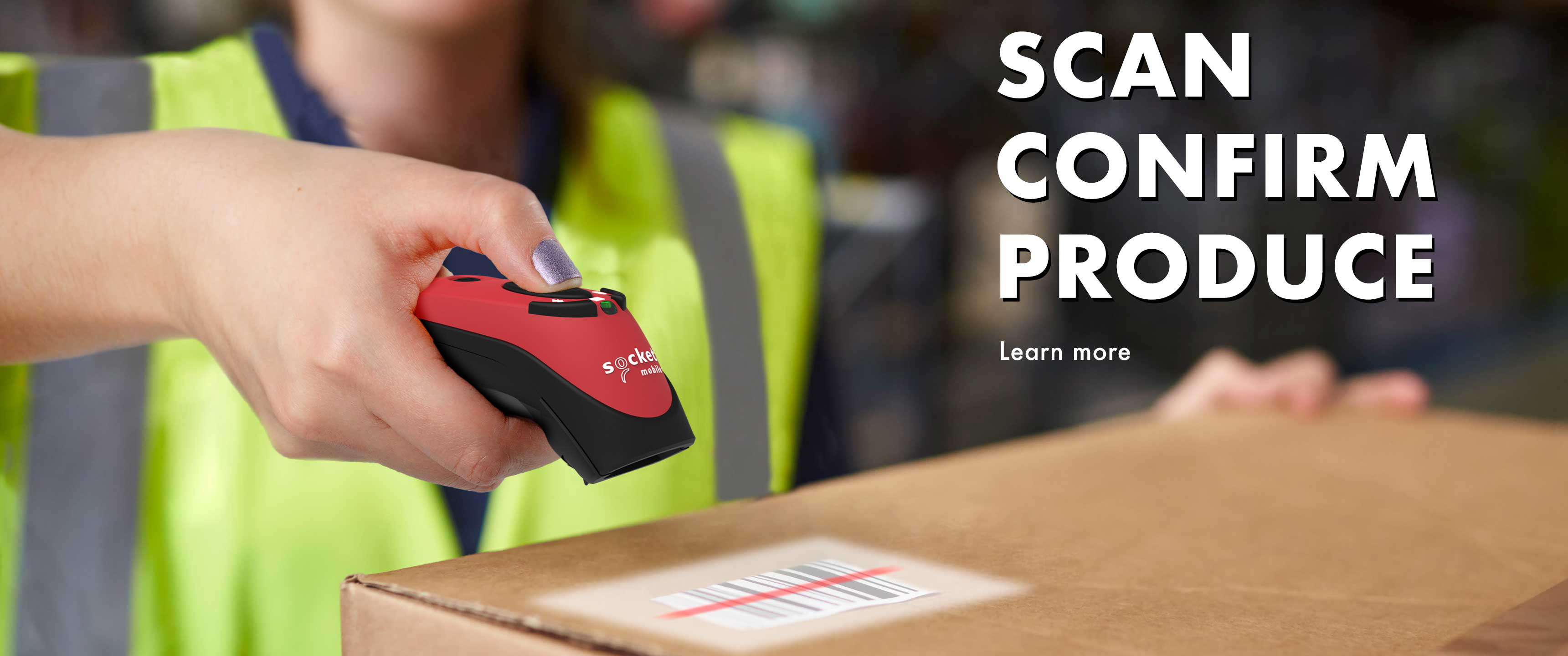 Socket Mobile | Bluetooth Barcode Scanners | QR code reader